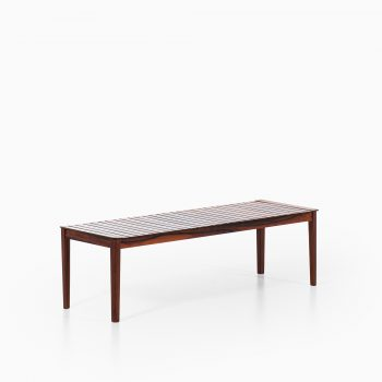 Alberts side table in solid rosewood at Studio Schalling