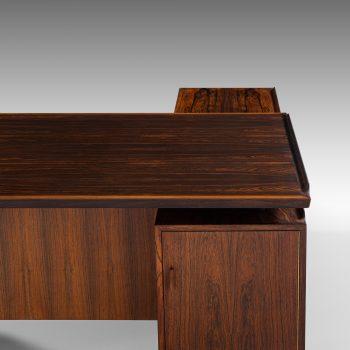 Arne Vodder desk with sideboard model 209 at Studio Schalling