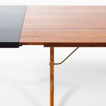 Dining table attributed to David Rosén in rosewood at Studio Schalling