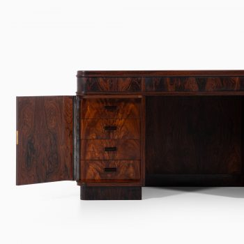 Rosewood desk attributed to Kaj Gottlob at Studio Schalling