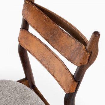 Helge Sibast dining chairs model 59 in rosewood at Studio Schalling