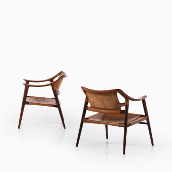 Rolf Rastad & Adolf Relling Bambi easy chairs at Studio Schalling