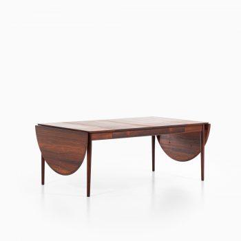 Arne Vodder dining table model 227 in rosewood at Studio Schalling