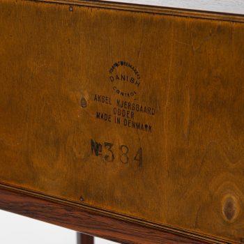 Kai Kristiansen side table model 384 in rosewood at Studio Schalling