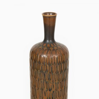 Stig Lindberg ceramic vase by Gustavsberg at Studio Schalling