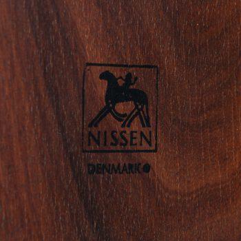 Richard Nissen ice bucket in rosewood at Studio Schalling