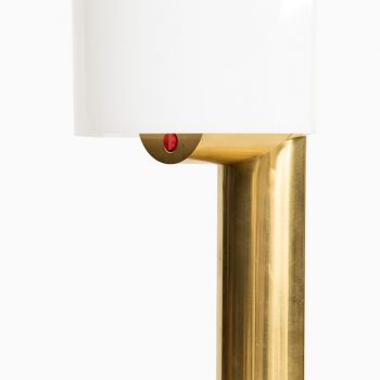Reima Pietilä table lamps in brass and acrylic at Studio Schalling