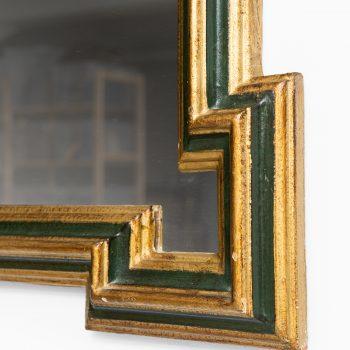 Decorative mirror by unknown designer at Studio Schalling