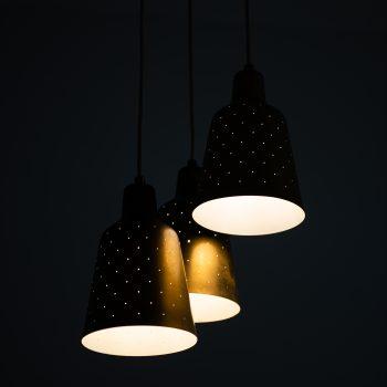Hans Bergström ceiling lamp from 1940's at Studio Schalling