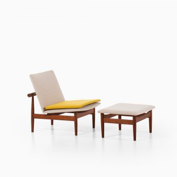 Finn Juhl easy chairs model Japan at Studio Schalling