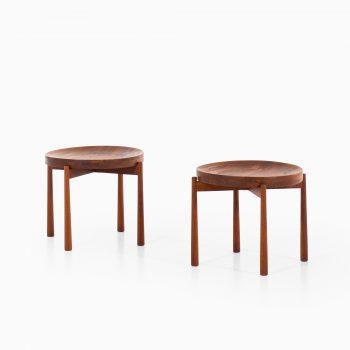 Jens Quistgaard side table in teak at Studio Schalling