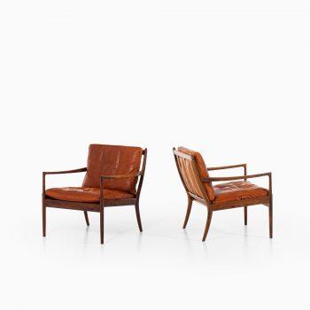 Ib Kofod-Larsen Samsö easy chairs by OPE at Studio Schalling