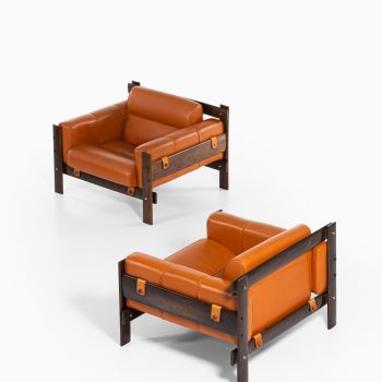 Percival Lafer easy chairs by Lafer MP at Studio Schalling