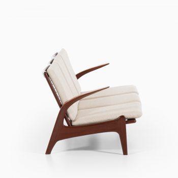 Rolf Rastad & Adolf Relling sofa in teak at Studio Schalling