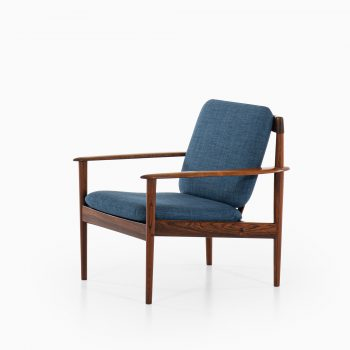 Grete Jalk easy chair model 56 in rosewood at Studio Schalling