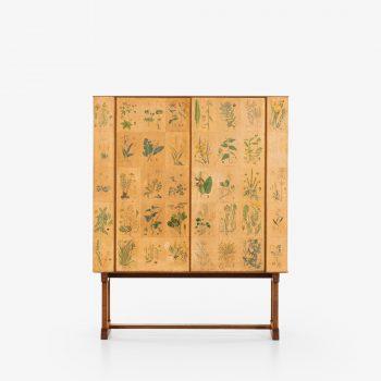 Josef Frank Flora cabinet in mahogany at Studio Schalling