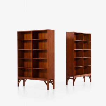 Børge Mogensen bookcases in teak at Studio Schalling