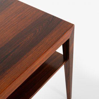 Severin Hansen side table in rosewood at Studio Schalling
