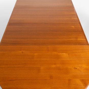 Hans Wegner dining table model JH-567 in solid teak at Studio Schalling
