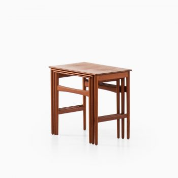 Hans Wegner nesting tables by Andreas Tuck at Studio Schalling