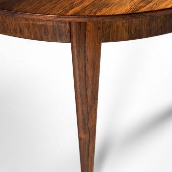 Ernst Kühn dining table in rosewood and brass at Studio Schalling