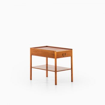 Josef Frank bedside table in mahogany and brass at Studio Schalling