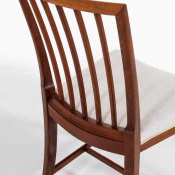Frits Henningsen dining chairs in cuban mahogany at Studio Schalling