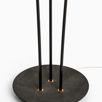 Floor lamp with 3 original lamp shades at Studio Schalling