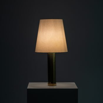 Pair of table lamps model B-010 by Bergbom at Studio Schalling