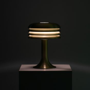 Hans-Agne Jakobsson BN-26 table lamps in brass at Studio Schalling