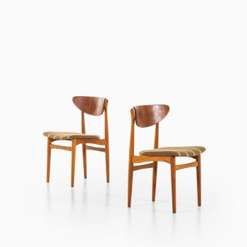Henning Kjærnulf dining chairs by Sorø stolefabrik at Studio Schalling