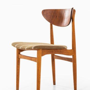 Henning Kjærnulf dining chairs by Sorø stolefabrik at Studio Schalling