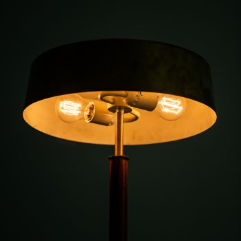 Boréns table lamp in rosewood and brass at Studio Schalling