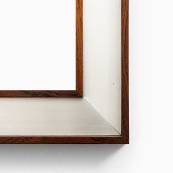 Large rosewood mirror by Fröseke at Studio Schalling