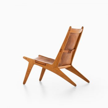 Uno & Östen Kristiansson hunting easy chair by Luxus at Studio Schalling