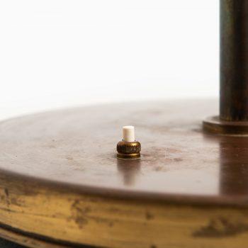 Josef Frank floor lamp in brass and opal glass at Studio Schalling