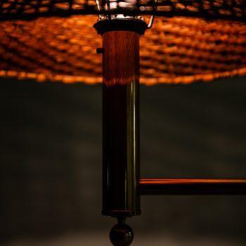Pair of Bergbom floor lamps in brass at Studio Schalling