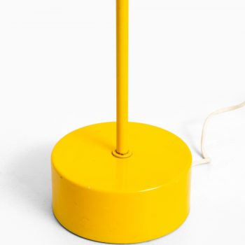 Hans-Agne Jakobsson floor lamp in yellow lacquer at Studio Schalling