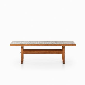 Jens Harald Quistgaard coffee table in oak at Studio Schalling