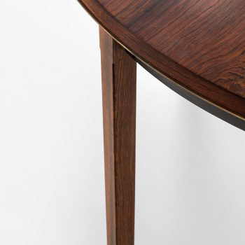 Bent Helweg-Møller dining table in rosewood at Studio Schalling