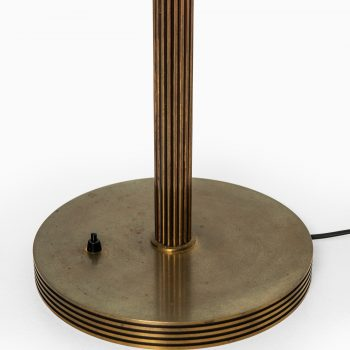 Floor lamp in brass and glass at Studio Schalling