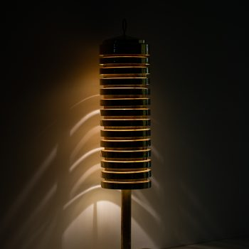 Hans-Agne Jakobsson G-81 floor lamp in brass at Studio Schalling