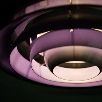 Preben Fabricius & Jørgen Kastholm ceiling lamp at Studio Schalling
