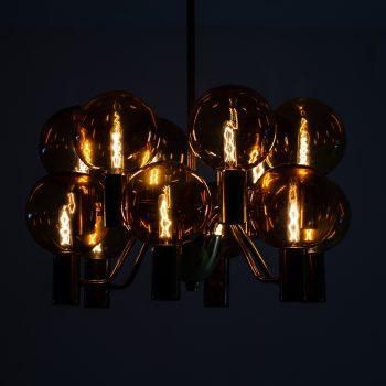 Hans-Agne Jakobsson ceiling lamp model T372/12 at Studio Schalling
