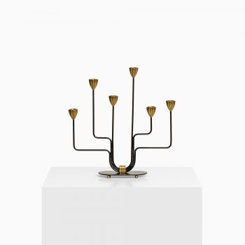 Gunnar Ander early candlestick by Ystad Metall at Studio Schalling