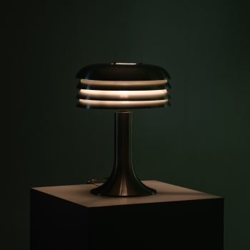 Hans-Agne Jakobsson BN-26 table lamps in aluminium at Studio Schalling