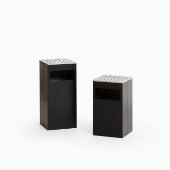 Beck & Jung ashtrays in aluminum at Studio Schalling