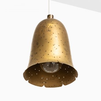 Boréns ceiling lamps in brass at Studio Schalling