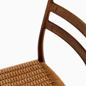 Arne Wahl Iversen dining chairs model GS-70 at Studio Schalling