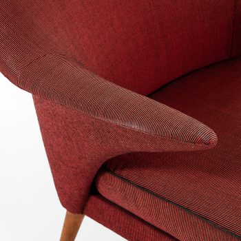 Pair of easy chairs attributed to Hans Olsen at Studio Schalling